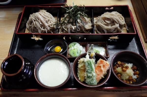 三味そば(1050円)