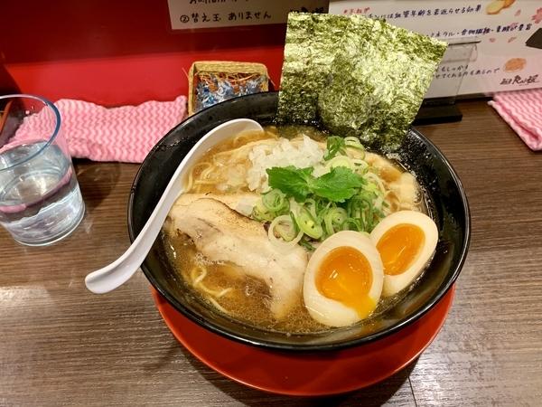 特製煮干し中華そば(950円)+麺大盛(100円)