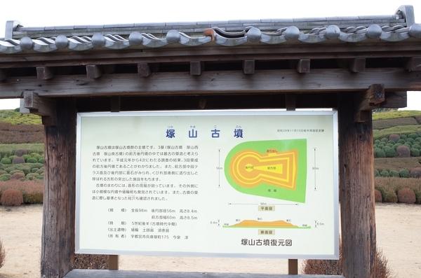 塚山古墳の案内