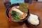 濃厚とんこつ白ラーメン(720円)+味玉(LINE登録0円)+ご飯無料おかわりOK