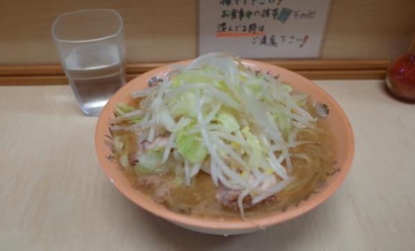 ミニラーメン(600円)ピンボケ