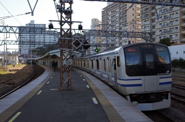 横須賀駅にトウチャコ