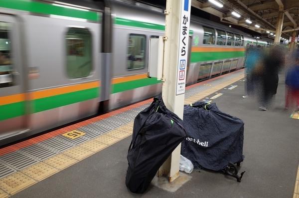 鎌倉駅のホーム
