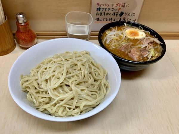 つけ麺(麺)麺少なめスルーパフェ