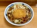 牛肉コロッケそば(440円)+大盛(80円)