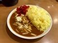 えびカレー(800円)+特盛(100円)+チーズ(60円)