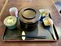 カツ丼セット[冷たい蕎麦](940円)蓋あり