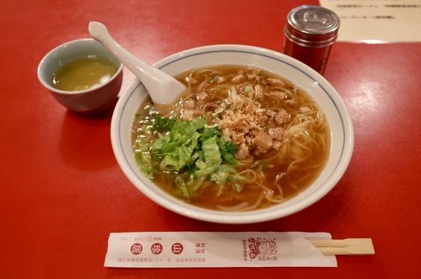 魯肉麺(750円)+大盛(100円)