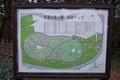 青葉の森公園の梅園マップ
