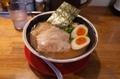 煮干し中華そば【あっさり】(750円)+麺大盛り(無料券)+味玉(無料券)+