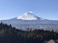 ララ御殿場正面から見た富士山
