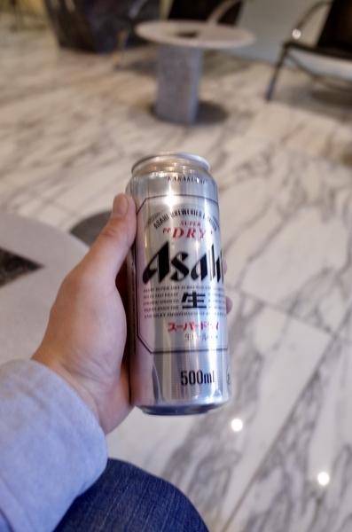 風呂の後のビール