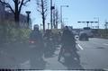 バイクの大渋滞