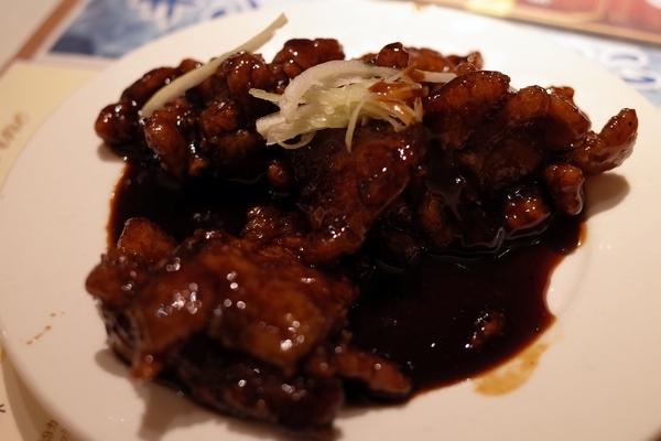 65.黒酢豚