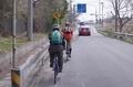 国道464号を成田方面へ左折