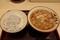 しらすおろし丼セット【温・そば】(590円)