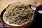 大盛の黒胡麻ダッタン蕎麦