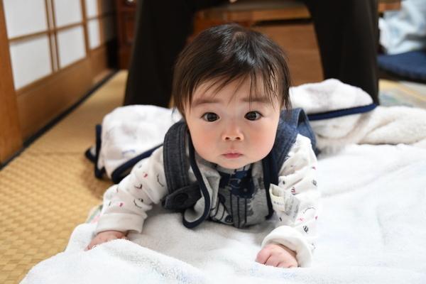 甥②の赤ちゃん