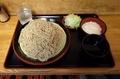 恵み蕎麦【大盛550g】(650円)+とろろ(100円)+鯖出汁変更(0円)