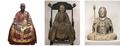 重文「高峰顕日坐像」・鎌倉時代 正統院・重文「夢窓疎石坐像」瑞泉