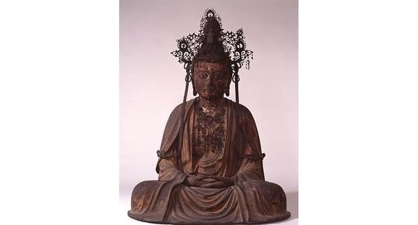 「宝冠釈迦如来坐像」 鎌倉時代 白雲庵