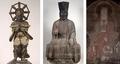 韋駄天立像」鎌倉時代 重文「伽藍神像」 鎌倉時代建長寺「韋駄天立像