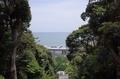 神門前から海を望む