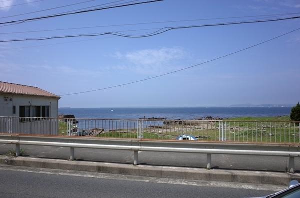 上総湊の海