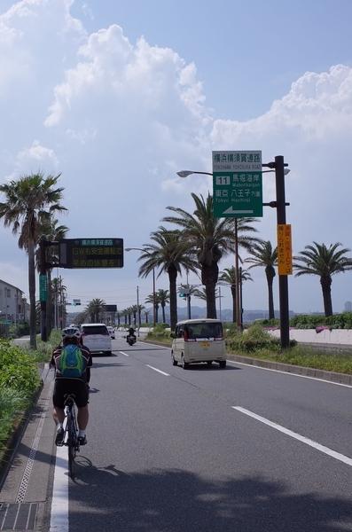 横須賀を走る