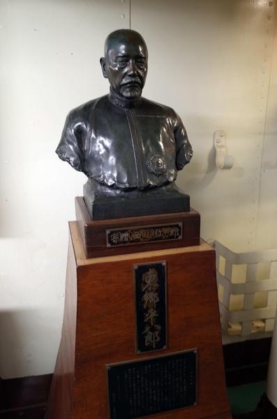 東郷平八郎胸像