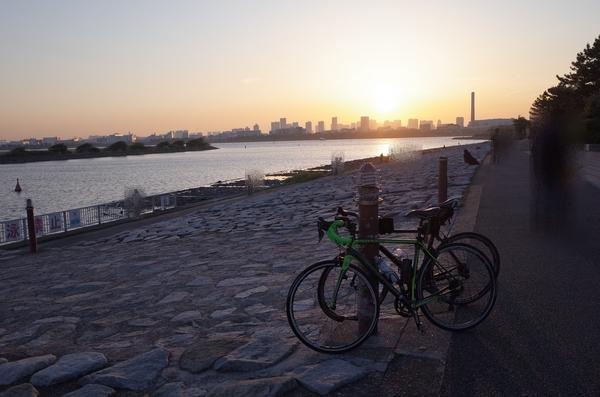 葛西臨海公園の夕焼け