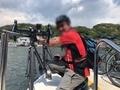 浦賀の渡しに乗るワタシ