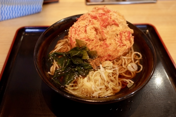 紅生姜そば(410円)