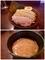 大盛の麺とつけ汁