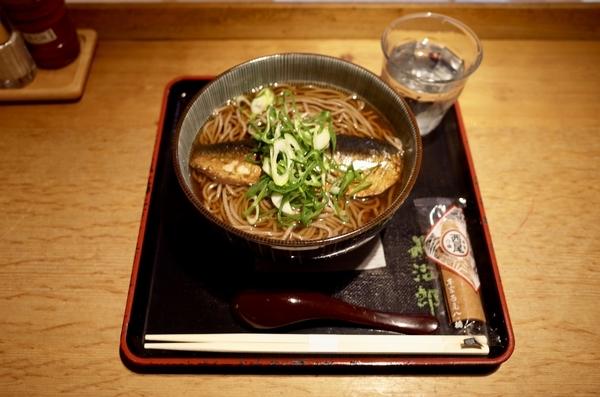 にしんそば【温】(1000円)+麺大盛り(150円)
