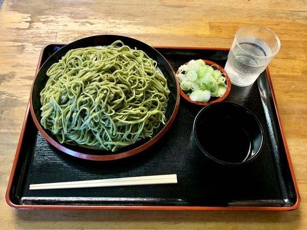 茶そば【大盛550g】(750円)+鯖出汁変更(0円)