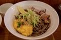 バジル冷そば(具と麺)