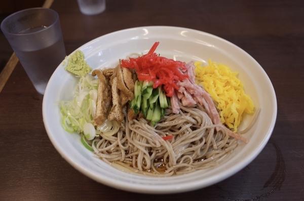 冷やし中華そば(600円)+大盛(100円)
