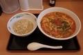 大宮担々麺【辛め】半チャーハンセット(880円)