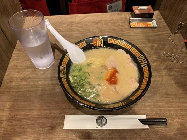 ラーメン・替玉(980円)+味の濃さ・こってり度・麺のかたさ【基本】