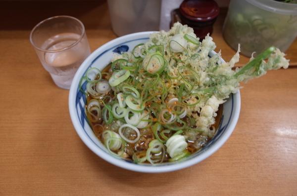 春菊天そば(460円)
