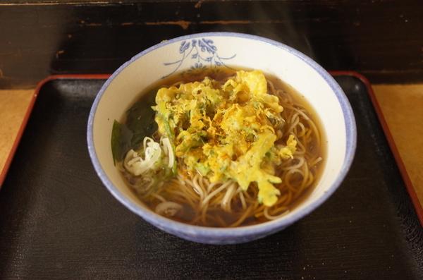 春菊天そば(410円)