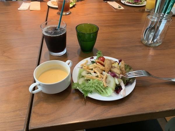 ドリンク・スープ・サラダ