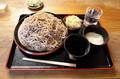 茨城産 常陸秋そば 地粉切り【大盛550g】(800円)+鯖出汁+とろろ(0円)