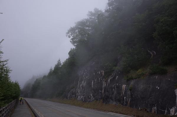 突如霧がかかる