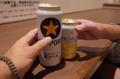 ビールとノンアルで乾杯