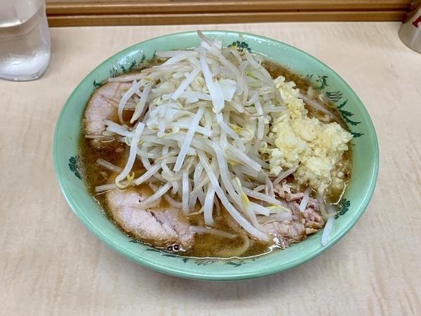ミニラーメン(600円)自動ニンニク