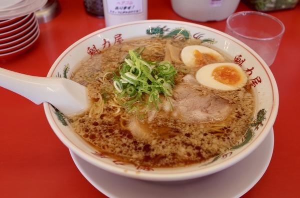 特製醤油味玉ラーメン(850円+税)+大盛(100円+税)