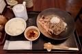 辛味おろしそば【大盛無料】+Cとろろごはん(1200円)