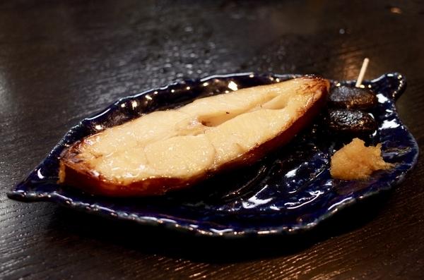 黒カレイ焼き魚